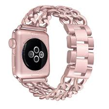 bracelet rose metal images Apple watch series 2 38mm luxury stainless steel premium metal jpg