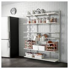 Pull Out Pantry Shelves Ikea by Algot Wall Upright Shelf And Basket Ikea