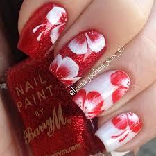 25 best hawaiian flower nails ideas on pinterest hawaiian nail