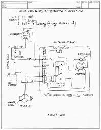 tractor alternator wiring diagram ansis me