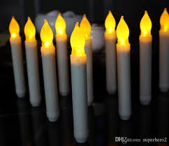 led electric candle light birthday flameless candles