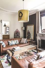 deco canape marron salon mur marron meilleur de les 25 meilleures idées de la catégorie