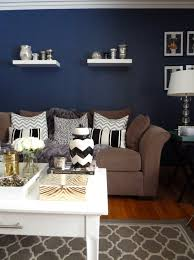 brown and blue living room decorating ideas green and cream