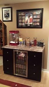 Basement Ideas On A Budget Diy Snack Station Inexpensive Desk Transformed Into A Fun Snack