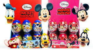 mickey mouse minnie mouse surprise eggs goofy daisy
