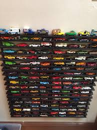 creating a super cool shelf to corral all those wheel cars