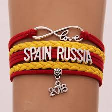 infinity braid bracelet images 2018 world cup russia band bracelet infinity love spain russia jpg