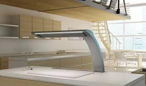 hotte cuisine verticale hotte escamotable sous plan de travail