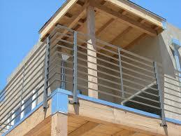 style horizontal bar balcony railing