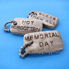remembrance dog tags dog tag cookies personalized treats for patriotic holidays