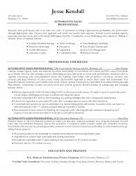 Best Finance Resume by Salesperson Resume