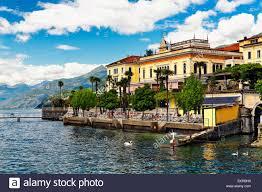 lakeshore view with a hotel grand hotel villa serbelloni