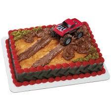 decopac monster truck cake kit