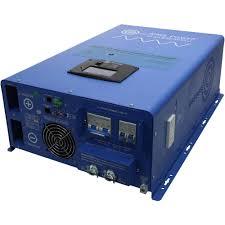 aims power watt 48vdc to 120240vac split phase inverter charger