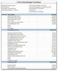 sample budget sample budget dinner and auction budget worksheets