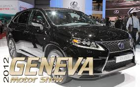 lexus crossover 2013 2012 geneva 2013 lexus rx 350 and rx 450h first look photo
