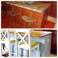 apartment therapy kitchen island a kitchen island redo you u0027ll have to see to believe before and