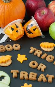 spooky snacks and healthy halloween treats