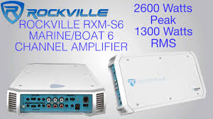 rca home theater system 130 watts rockville rxm s6 marine boat 6 channel amplifier 2600 watt peak
