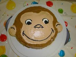 blessed mess curious george cake