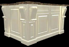 kitchen island with corbels corbels kitchen applications white river