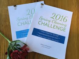 Time For Spring Cleaning by Week 1 Of Deep Cleaning Spring Cleaning Challenge 2016