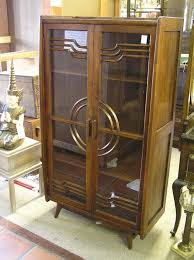 art deco china cabinet 2460 art deco china cabinet lot 2460 there s no place like home