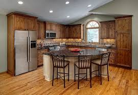 Kitchen With L Shaped Island Astonishing L Shaped Kitchen Island Designs With Seating Best Of