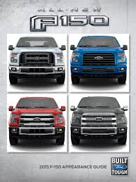 Ford F150 Truck 2015 - 2015 ford f 150 appearance guide takes the truck from mild to wild