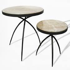 Tripod Side Table Hw Home Tripod Onyx Side Table