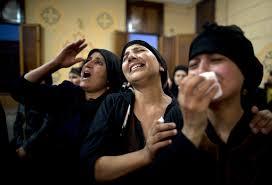gunmen in egypt force coptic christian pilgrims from buses and