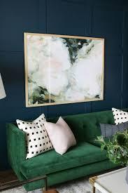 trend alert the green velvet sofa u2013 mint modern home