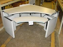 Modern Workstation Desk by The Ultimate Computer Workstation Government Auctions Blog