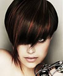 copper and brown sort hair styles dark hair copper highlights google search hair styles