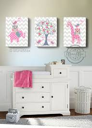 nursery nursery decor elephant giraffe owl birds 12 x