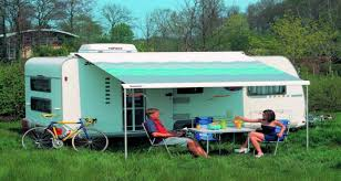 Caravans Awnings All You Need To Know About Painting Canvas Caravan Awnings