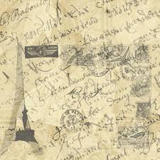 images of french script wallpaper border sc