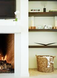 awesome design for modern floating shelves above fireplace darkwood modern floating shelves above fireplace wicker