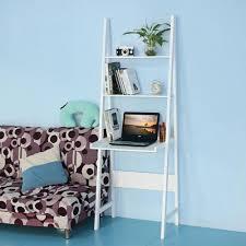 Leaning Ladder Bookshelves by Hand Made Leaning Ladder Shelf U2014 Optimizing Home Decor Ideas
