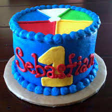 birthday cake beach ball tidal treasures