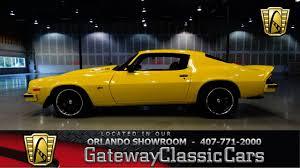 chevrolet camaro 1974 1974 chevrolet camaro z 28 gateway cars orlando 252