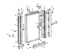 Shower Door Part Sears Sears Pivot Shower Door Parts Model 39268431 Sears