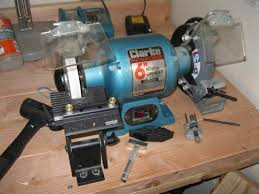 Uses Of A Bench Grinder - semi permanent bench grinder mount finewoodworking