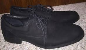 santo triana shoes santo triana black nubuck leather casual oxford lace up comfort