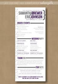 Order Wedding Ceremony Program Modern Wedding Ceremony Program Printable By Xsimplymoderndesignx