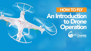 how to fly an aerial drone