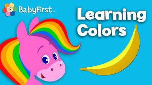 colorful colors color cartoons for children learning colors for kids rainbow