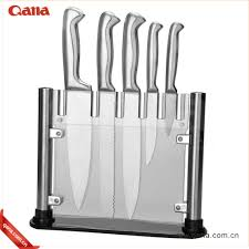 wholesale stocked high quality 6pcs stainless steel kitchen knife