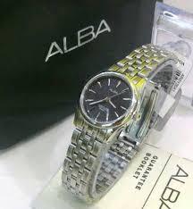 Jual Jam Tangan Alba jual jam tangan alba 435 original silver black jam tangan