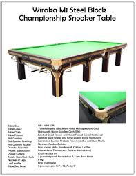Snooker Cushions Wiraka Commercial Use Snooker Table Knight Shot Dubai Pool